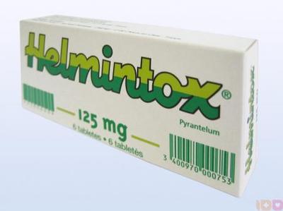 posologie de helmintox)